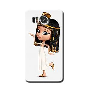 EGYPTIAN GIRL BACK COVER FOR GOOGLE NEXUS 5X