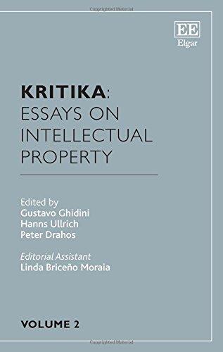 Kritika: Essays on Intellectual Property: Volume 2