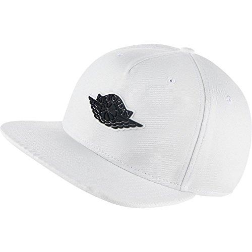 NIKE Casquette Jordan Wings Strapback Blanc Réglable