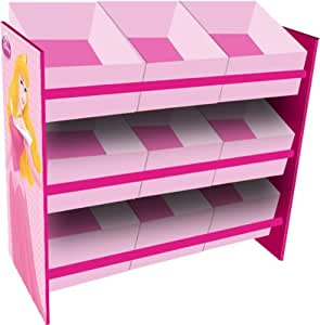 disney princess stilvolles aufbewahrungsregal f r kinder mit 9 boxen k che haushalt. Black Bedroom Furniture Sets. Home Design Ideas