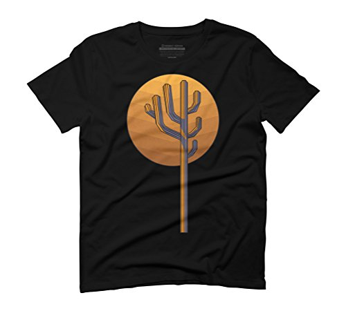 Mexican kaktus Men's Graphic T-Shirt - Design By Humans Black