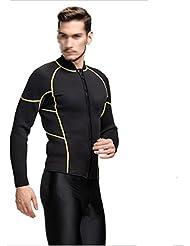 Vêtements De Surf Hommes Costume De Plongée Conjoint Vêtements De Plongée En Apnée Multicolore Multi-taille