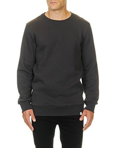 KOOLFLY COM.FY COLLECTION Men's Crew Sweatshirt Grey in Size Medium - Medium Grey Collection