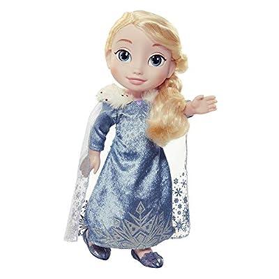 Jakks Pacific Elsa Muñeca Princesas Disney Frozen, Anna de Las Aventuras de Olaf,, 7,5 cm 84715 de Jakks