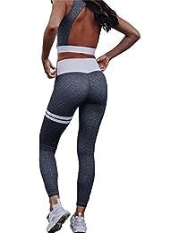 Kootk Femmes Survêtements Tenues Tenue Sport 2 Pièce Yoga Ensembles Sports  Gilet + Legging Aptitude Vêtements a2740da6ac2