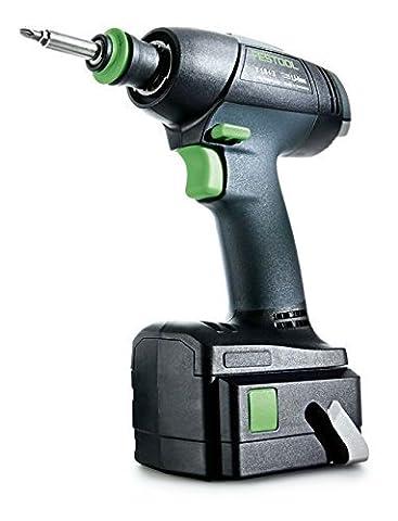 Festool T 18+3 Li 5,2-Set GB 240V Cordless Drill -
