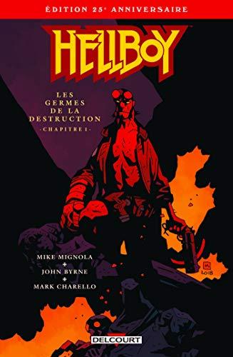 Couverture du livre Hellboy #1 : Edition 25ème anniversaire