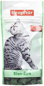 Beaphar Friandises Bien être à l'herbe à chat, 35 g