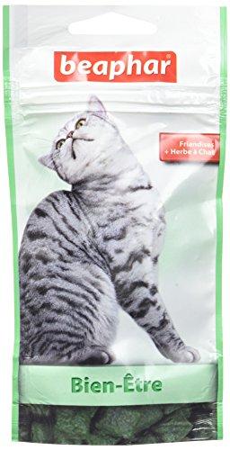 Beaphar - Friandises Bien-être à l'herbe à chat -...