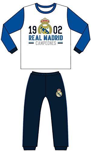 Pijama Adulto Real Madrid 1902 Campeones Manga Larga
