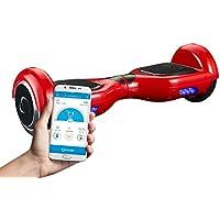 """SmartGyro X2 Red - Patinete eléctrico con Certificado UL2272, Ruedas Run-Flat Talla 6.5"""", color Rojo"""