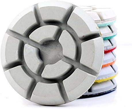 7 pz set diamante lucidatura Pad Floor grinding Renovate Renovate Renovate calcestruzzo abrasivo disco diamantata per lucidare resina | Stile elegante  | Un'apparenza Elegante  | Buon Mercato  24cdf0