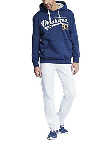 Oklahoma Jeans Herren Straight Jeans Weiß (White 007)
