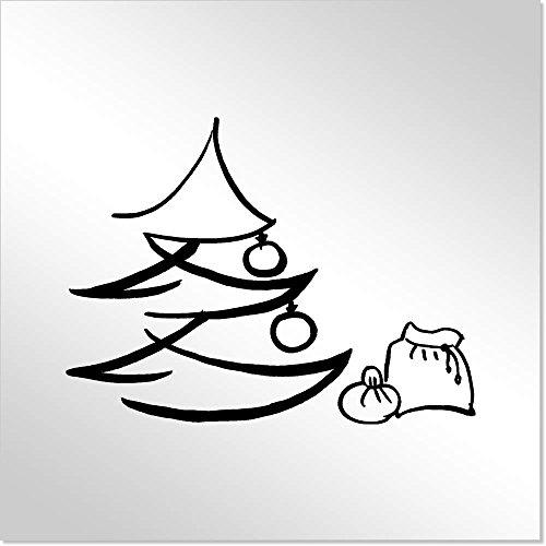 Azeeda 'Árbol de Navidad y Saco' MT00002544