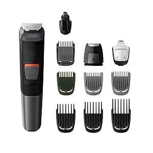 Philips MG5730Série 5000- Tondeuse imperméable 11-en-1 pour visage, cheveux et corps