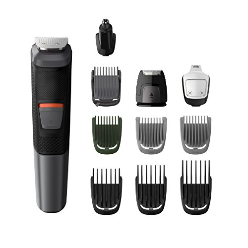 Philips MG5730 Groming Kit Serie 5000 Rifinitore Impermeabile 11 in 1 Barba, Capelli e Corpo
