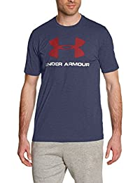 Under Armour Cc Sportstyle Logo Camiseta de Manga Corta, Hombre, Azul (Midnight Navy
