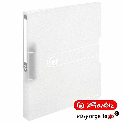 Ringbuch A4 PP 2-Ring 3,8cm transparent farblos 4er-Pack