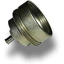 Danfoss–Cabezal termostática–Adaptador cabeza Living ECO para cuerpo Orkli roscas M 28x 1.5