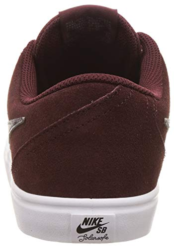 new styles af192 3bfb5 Nike SB Check Solar, Zapatillas de Skateboarding Unisex Adulto, (Burgundy  Crush/Gunsmoke