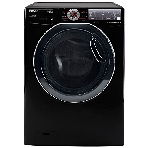 Hoover Wizard DWFT410AH8B/1-80 10kg 1400 Spin Wifi Washing Machine Black