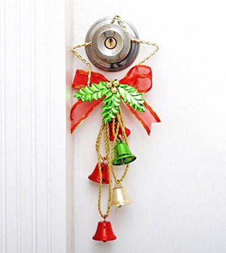 Die Türklingel Hängen Weihnachtsstern Ornamente Shop Weihnachtsgeschenk Zubehör Metall Gate of Arcades (Mädchen Bandit Kostüm)
