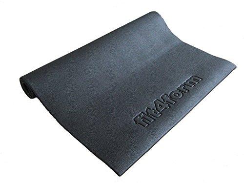 fit4form Bodenschutzmatte 140 x 80 cm, phthalatfrei - Unterlegmatte für Fitnessgeräte