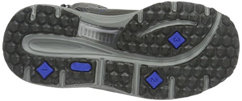 Lico Unisex-Kinder Fox High-Top Grau (Grau/Blau)