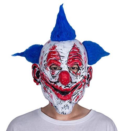 Gruselige Kostüm Mann Alte - FIREWSJ Halloween Maske Halloween Latex Maske Alter Mann Gruselige Latex Maske Maskerade Halloween Kostüm Party Realistische Horror Dekoration Mit Haaren