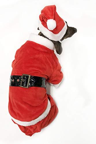 Midlee Hund Santa Claus Kostüm, Medium