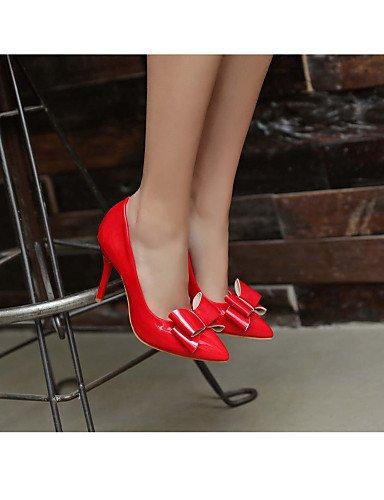 GS~LY Homme / Femme / Fille-Bureau & Travail / Habillé / Décontracté-Noir / Rouge / Blanc / Beige-Talon Aiguille-Talons-Chaussures à Talons- beige-us10.5 / eu42 / uk8.5 / cn43