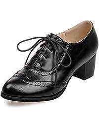 JQNSX Baskets Femmes Chaussures à Talons Hauts Chaussures De Toile Haute  Pompe Lacets Compensées… EUR 55,99 · Aisun Femme Mode Chaussures de Ville à  Lacet ... 4d1b41f1ba7d