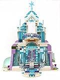 Modbrix Magischer Eispalast Bausteine Schloss Konstruktionsspielzeug 701 Teile