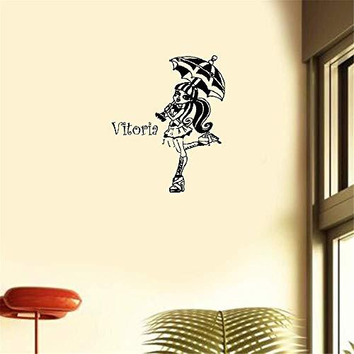 Wandaufkleber Kinderzimmer Wandaufkleber Schlafzimmer Kunden gemacht Monster High Draculaura Parapluie Ouvert Choix Taillecouleur Decals (Zeigen High Monster)