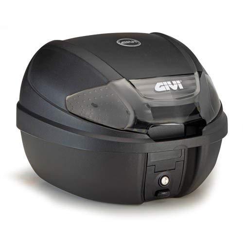 Givi E300NT2 Tech Monolock Topcase mit Platte, Schwarz