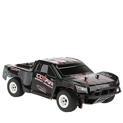 LXWM Telecomando Auto 1:24 2.4 G off Road Vehicle Ad Alta velocità Racing Monster Truck 35Km / H 500Mah Telecomando Radio Racing Cars Elettrico Fast Race Buggy Kid Regalo di Natale