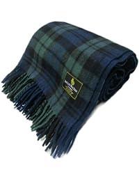 Ingles Buchan - Ingles Buchan - Couverture écossaise - tartan Black Watch - laine