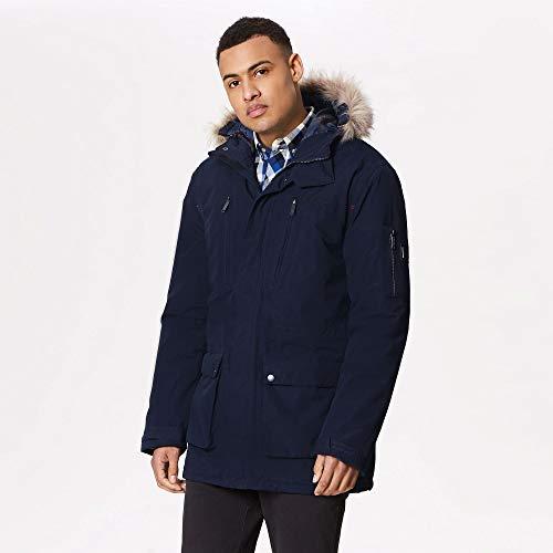 Regatta Herren Salinger Waterproof and Breathable Insulated Hooded Jacke, Navy, 2X-Large Preisvergleich