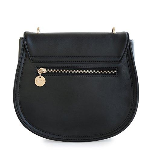 borsa a tracolla stampa dolce semicerchio/Messenger Bag La signora della moda retrò-A A