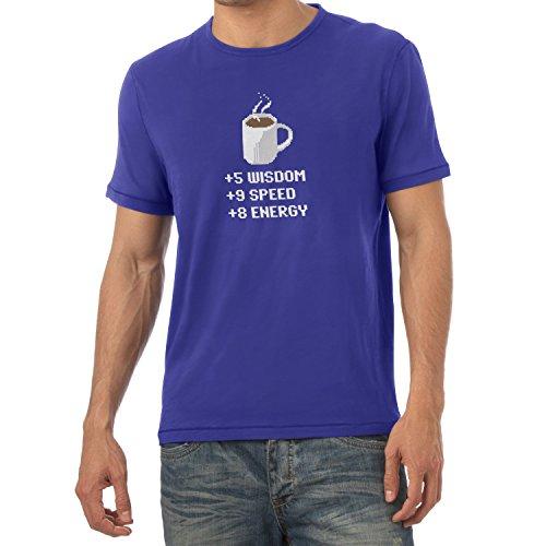 TEXLAB - Wisdom Speed Energy - Herren T-Shirt Marine