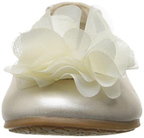 Pour plats avec fleurs et nœud & strass Blanc cassé - ivoire