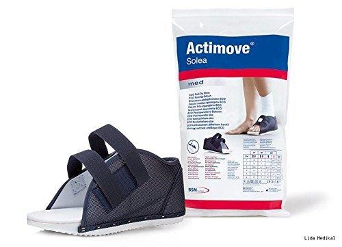 Actimove Solea   Post-OP / Chirugie Schuh   Einfache Passform mit weiter Öffnung - Flache Zehe Post