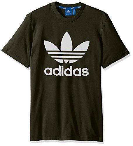 dba78470444c Adidas Originals Herren Originals Trefoil Tee Night Cargo