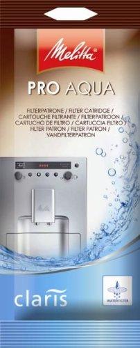 Melitta 192830 Filterpatrone für Kaffeevollautomaten, 1 Patrone, Pro Aqua