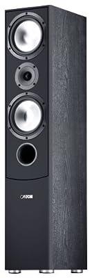 Canton GLE 470 Diffusore a torre, 110/170 Watt, colore: Nero, 1 pezzo prezzo scontato su Polaris Audio Hi Fi