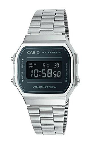 CASIO Unisex Erwachsene-Armbanduhr A168WEM-1EF