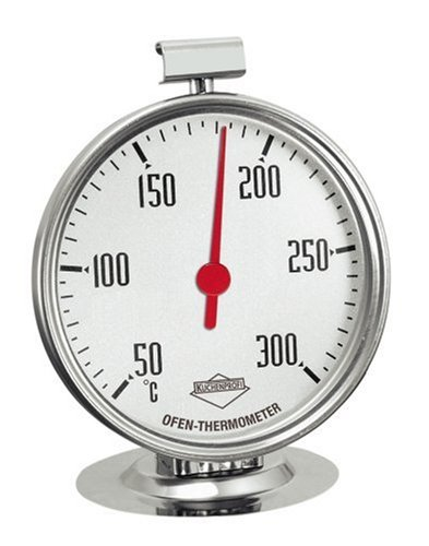 Küchenprofi 1065102800 Ofen-Thermometer edelstahl, silber, 100 x 59 x 59 cm