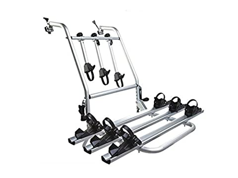 Nola Sang 3 Bike Universal Bicycle Hatchback Car Mount Rack Stand Carrier Alloy Luggage Rack