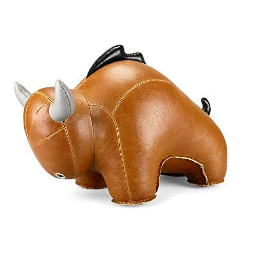 Bull Buchstützen (bull buloo animal bookend by zuny)