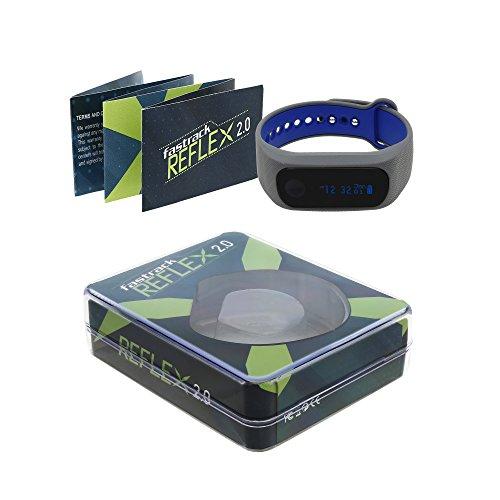 Fastrack Reflex 2.0 Digital Black Dial Unisex's Watch-SWD90059PP04